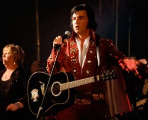 Elvis Impersonator Thane Dunn