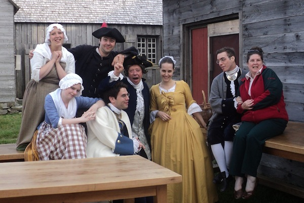 "Theatre Review: Say ""Oui"" to the Fortress of Louisbourg Dinner Theatre ""Never Say No"""
