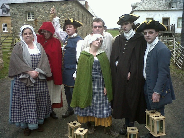 Fortress Louisbourg offers weekly Ghost Tours this September