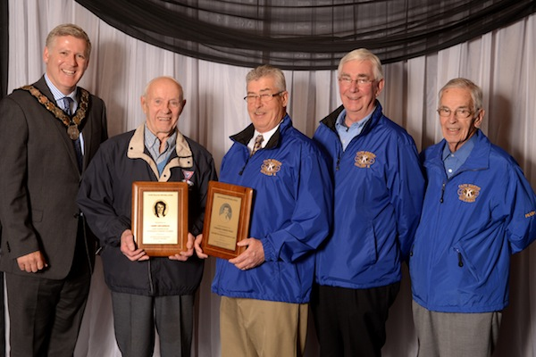 Cape Breton Kiwanis Golden K Club and Harry Henderson recognized by CBRM