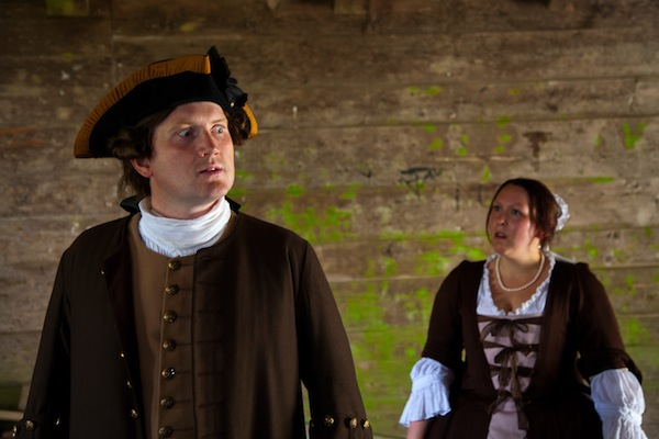 """Theatre Review: """"Untimely Death"""" – Greed, lust, and murder at Fortress Louisbourg"""