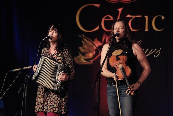 (Mary Jane Lamond and Wendy MacIsaac are among the artists performing at Nova Scotia Showcase in Milwaukee this weekend - photo: Murdock Smith)