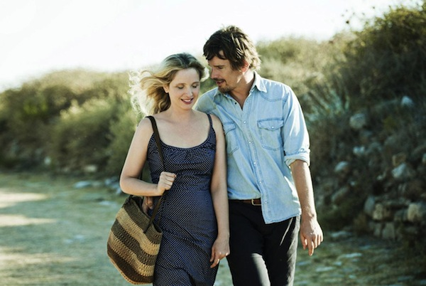 (Celine and Jesse, played by Julie Delpy and Ethan Hawke, return in Before Midnight, the Cape Breton Island Film Series' season opener)