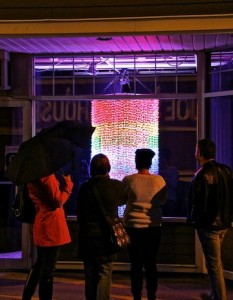 Tessa Kendrick's origami mobile was a big hit at Lumiere 2012