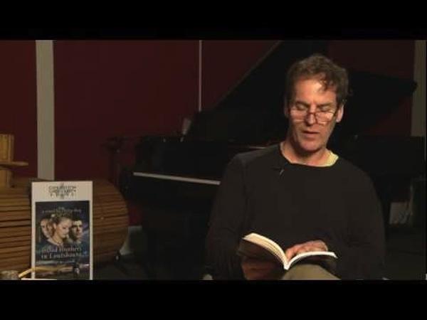 (Philip Roy reading from his novel Blood Brothers in Louisbourg - image from cbupressmedia)