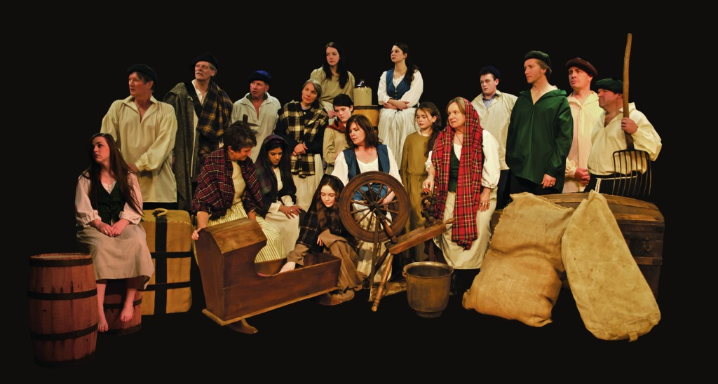 (Ships of 1801 comes to Strathspey Place Saturday, September 14)