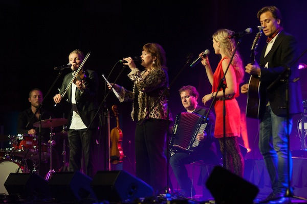 Lucy MacNeil and Helene Blum are among the artists appearing on the new Celtic Colours Live 2013 CD, to be released on December 11 - photo: Corey Katz