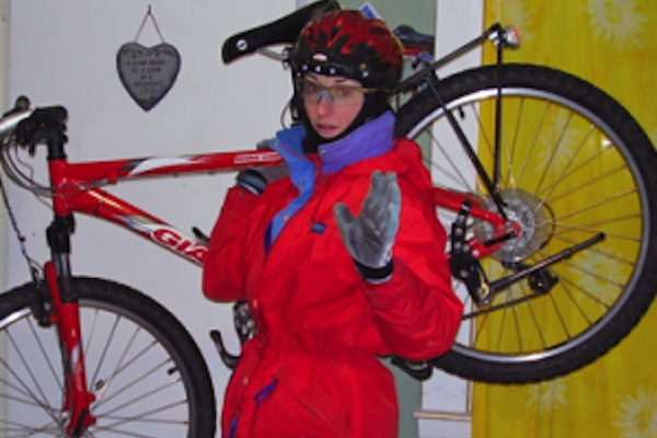 (Velo Cape Breton board member Shelley Porter to present at the International Winter Cycling Congress in Winnipeg this week)