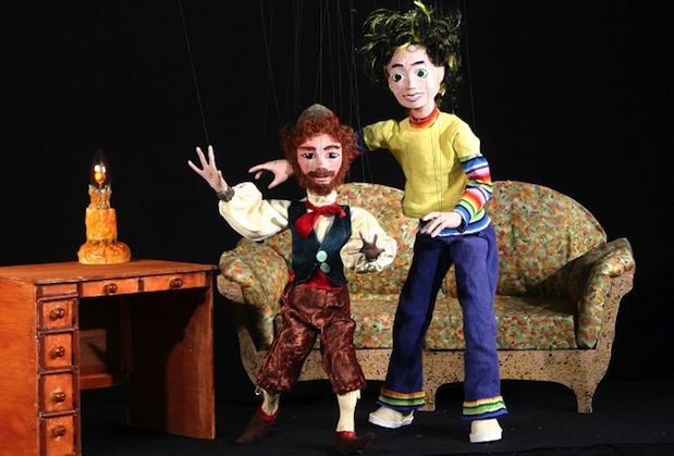 The Maritime Marionettes' production of The Lonely Leprechaun is one of three plays to be presented during this year's CBU Boardmore Playhouse Family Series