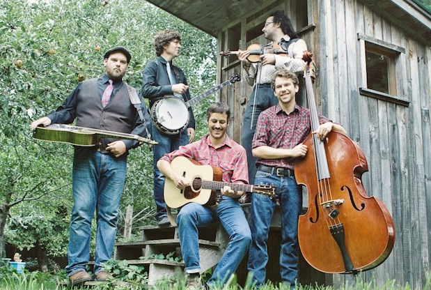 Award-winning, Halifax-based bluegrass/folk band The Modern Grass return to Cape Breton with singer-songwriter Carmel Mikol for shows in Sydney and North River