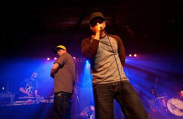 (Mischif and Mista Mack performing at the Joan Harriss Cruise Pavilion - photo: Scott Moore)