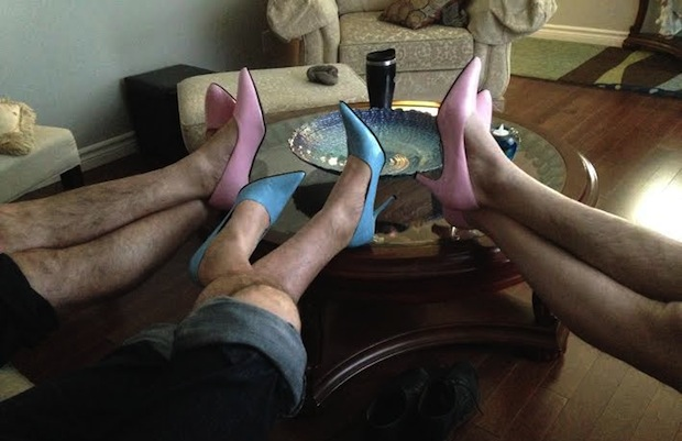 "Cape Breton Transition House needs your help to get ""pumped"" for their latest fundraiser which asks men to Walk a Mile in Her Shoes- photo: Transition House Foundation"
