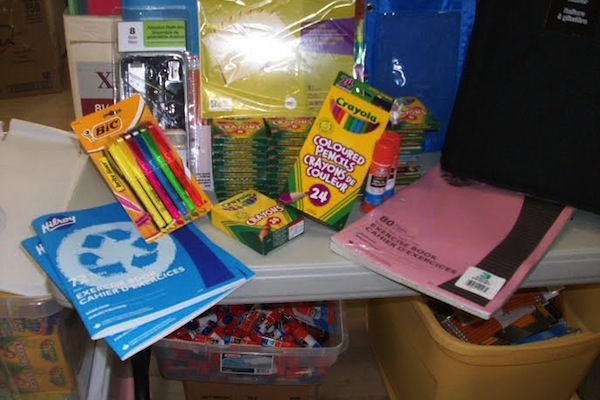 school supplies for every womans centre by wanda earhart