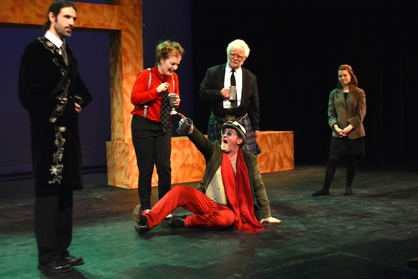 CBU Boardmore Theatre's production of Shakespeare's Twelfth Night opened Thursday and continues through to the end of November - photo: David Sneddon