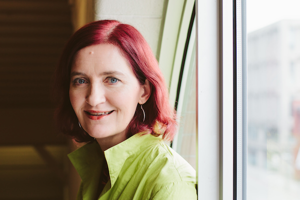 Emma Donoghue will read from her two most recent novels, Frog Music (set in 1870s San Francisco) and Room at the McConnell Library, Thursday April 30, 2015, at 7 p.m. - photo: (c) punch photographic 2013