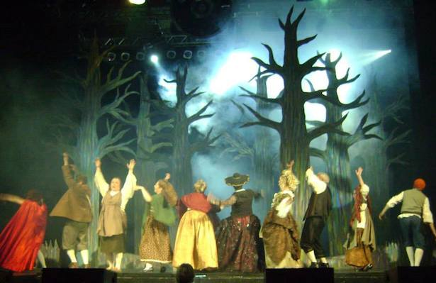 Savoy Theatre's production of Tony Award-winning musical Into the Woods, directed by Robyn Cathcart with musical direction by Barb Stetter, wraps up a three day run Sunday afternoon at 2PM