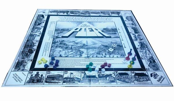 """The Pier"" board game launches Thursday, July 9th at the Polish Village Hall in Whitney Pier"