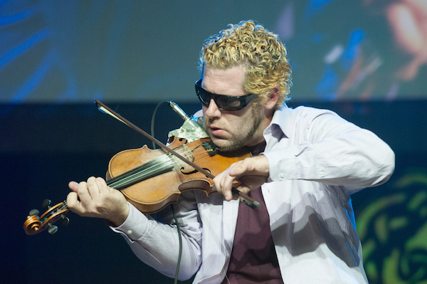 Ashley MacIsaac, pictured here during Celtic Colours in 2014 - photo: Murd Smith