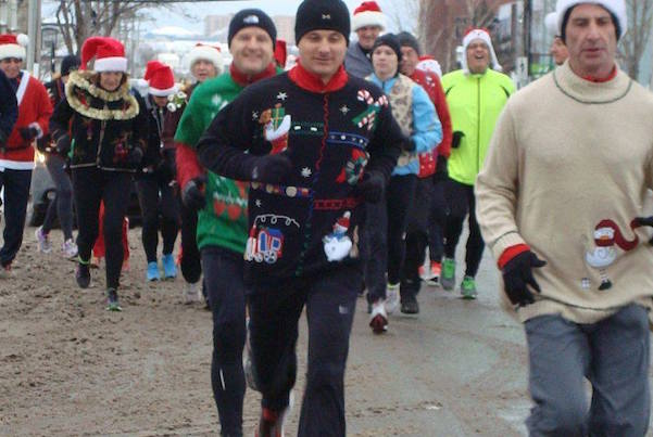 The Ugly Sweater Run teams up with Nathanson Law to help kids of Transition House. This year's Ugly Sweater Run takes place Sunday, December 13 - photo: Tera Camus
