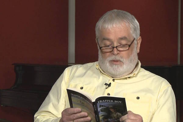 Author Hugh R. MacDonald reads from Trapper Boy