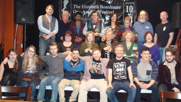 2016 Elizabeth Boardmore One Act Play Festival Award Winners. The 45th Season of Plays wraps up this weekend with a production of The Lion, The With and the Wardrobe - photo: Sajive Kochhar