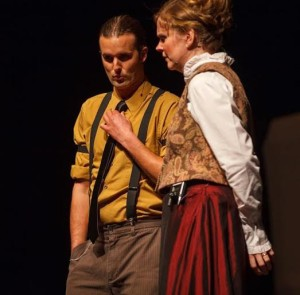 Barry Fougere and Lisa Cameron as John Archie and Nellie - photo: Derek Gallant