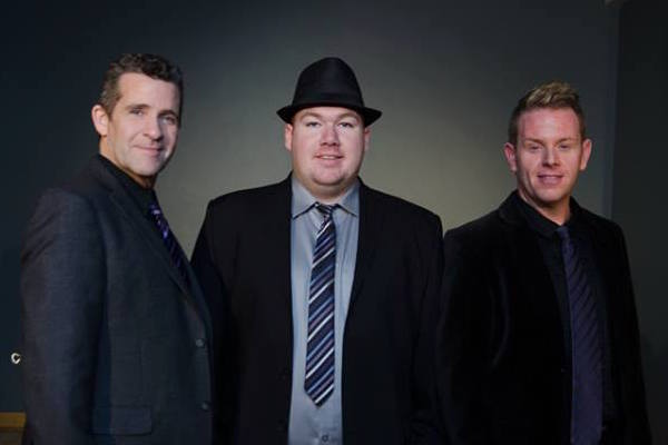 The Highland Tenors - Paul Gatchel, Johnathan MacInnis, and Robyn Cathcart.