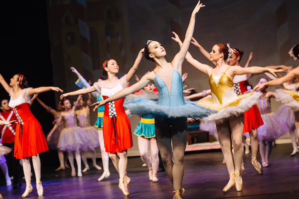 Dancers from the Savoy Theatre's 2015 production of The Nutcracker Suite - photo: David MacVicar
