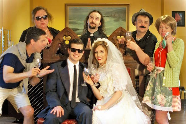 My Big Fat Glace Bay Wedding Dinner Theatre features Colin Appleton, Angela Duhamel, Brandon Carabin, Katherine Woodford, Matthew Earhart and Carol Anne Gillis.