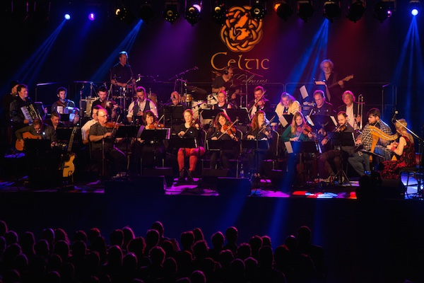 The Unusual Suspects of Celtic Colours performing in Sydney during the 20th Celtic Colours International Festival, October 8, 2016 - photo: Corey Katz