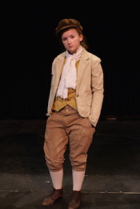 """Jenny Danyluk gives a standout performance as the title character in the CBU Boardmore Theatre's """"Oliver!"""""""