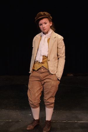 "Jenny Danyluk gives a standout performance as the title character in the CBU Boardmore Theatre's ""Oliver!"""