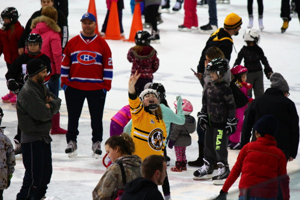 CBRM's Taste of Winter celebration kicked off last weekend with events around the CBRM including a free skate at Centre 200 in Sydney - photo: Joe Costello