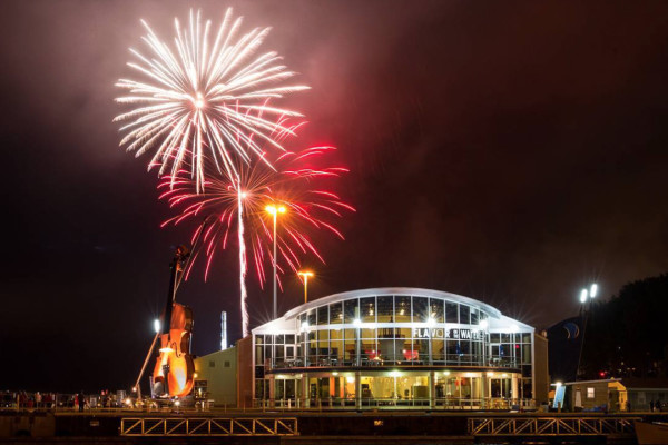 Fireworks on the CBRM Waterfront - photo: Chris Walzak