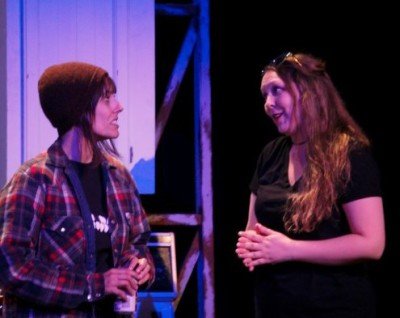Lindsay Thompson as Agnes and Jenna Lahey as Louise - photo: Lauren Sleep