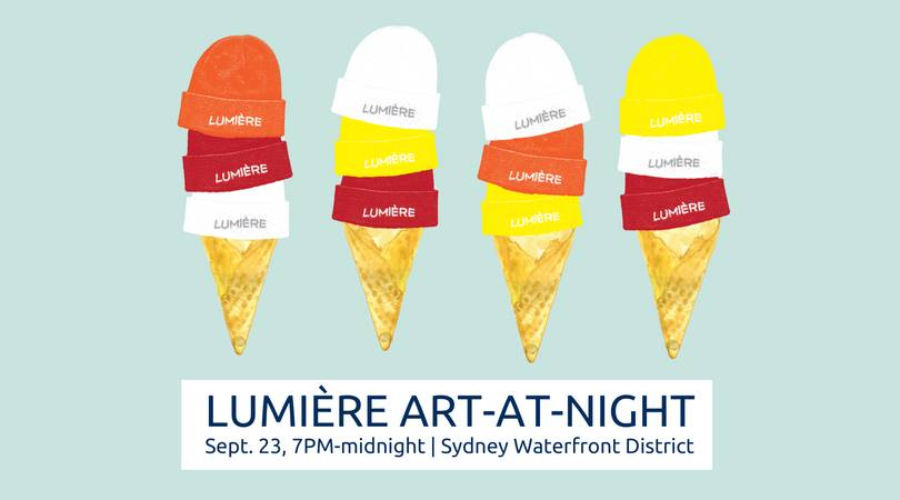 Lumiere Arts Festival, Art At Night - Downtown - Sydney