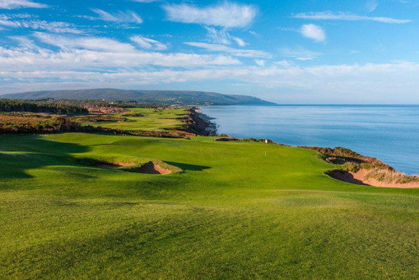 Cabot Cliffs in Inverness cracks Golf Digest Top 10, moving up to #9 from #19.