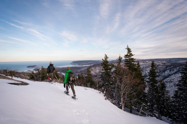 """Rise above the temperature"" and get out and enjoy all that Cape Breton has to offer this winter - photo: DCBA"