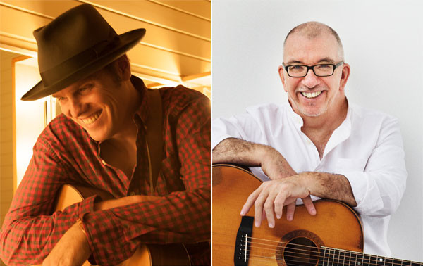 Dave Gunning and James Keelaghan - Port Hawkesbury Civic Centre: Shannon Studio - Port Hawkesbury
